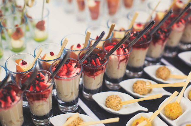 bali catering menu