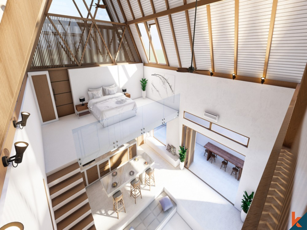 A Private House Loft for Two in Canggu