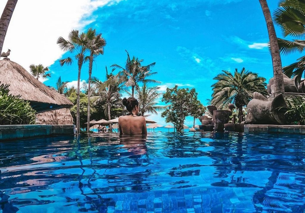 While in Bali: Away from the World at Nusa Dua Resort